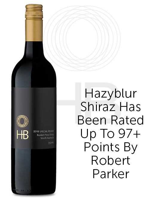 Hazyblur Special Release Basket Press Shiraz 2019