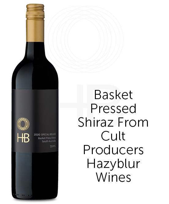 Hazyblur Special Release Basket Press Shiraz 2020