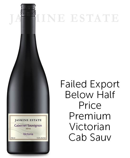 Jasmine Estate Victorian Cabernet Sauvignon 2016