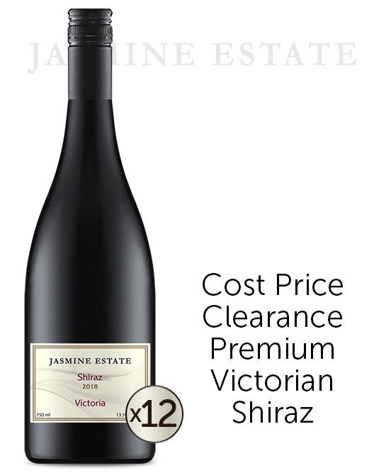 Jasmine Estate Victorian Shiraz 2018 Dozen