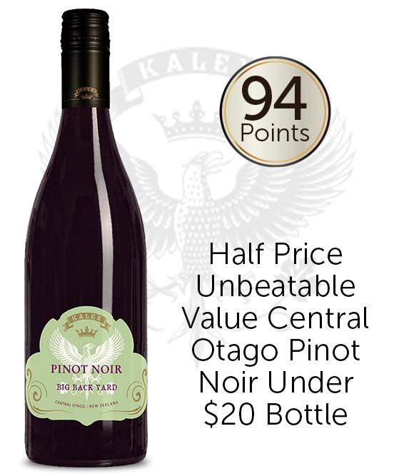 Kalex Wines Big Back Yard Central Otago Pinot Noir 2019