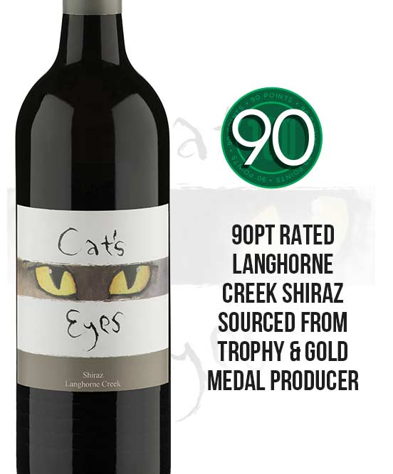 Cats Eyes Langhorne Creek Shiraz 2018