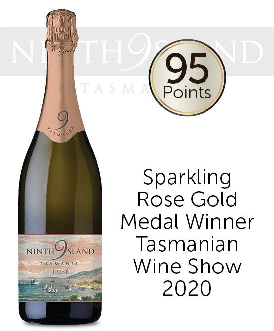 Ninth Island Tasmania Sparkling Rose Nv