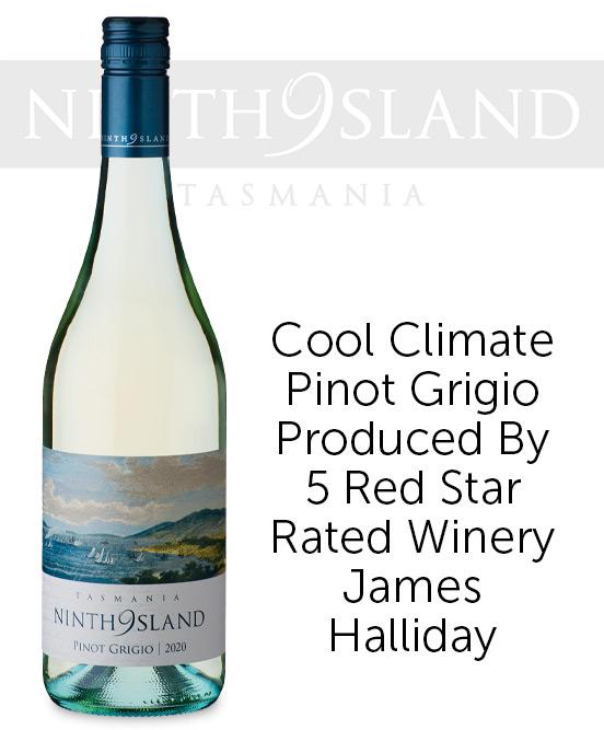Ninth Island Tasmania Pinot Grigio 2020