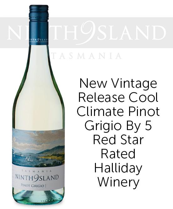 Ninth Island Tasmania Pinot Grigio 2021