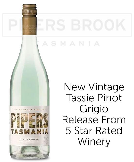 Pipers Tasmania Pinot Grigio 2020