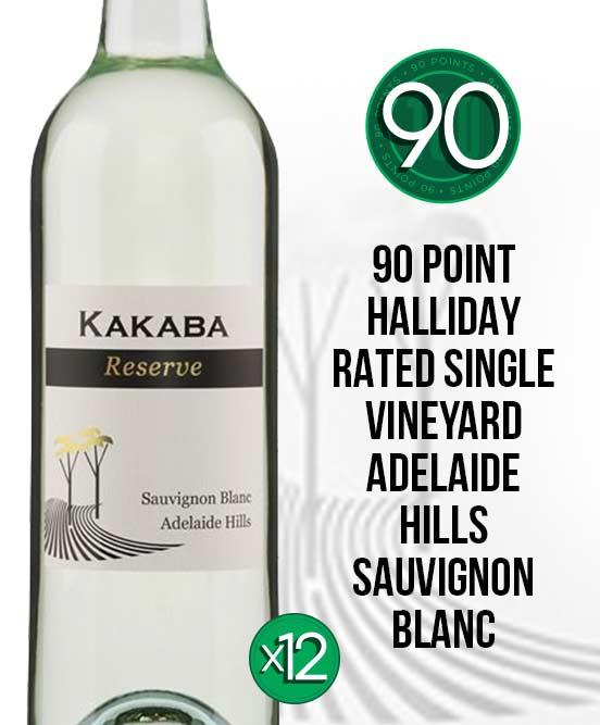 Kakaba Reserve Adelaide Hills Sauvignon Blanc 2017 Dozen