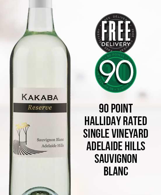 Kakaba Reserve Adelaide Hills Sauvignon Blanc 2017