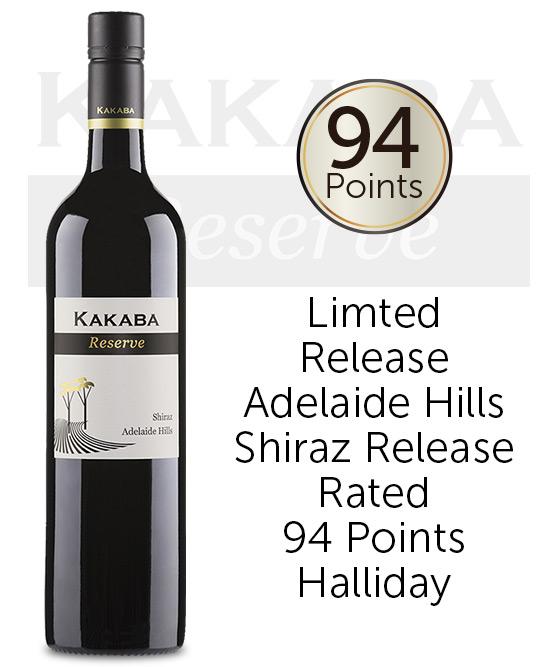 Kakaba Reserve Adelaide Hills Shiraz 2014