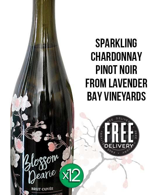 Blossom Dearie Sparkling Chardonnay Pinot Noir By Lavender Bay Vineyards Dozen