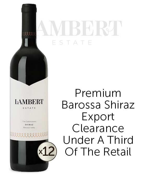 Lambert Estate The Commitment Barossa Valley Shiraz 2012 Dozen