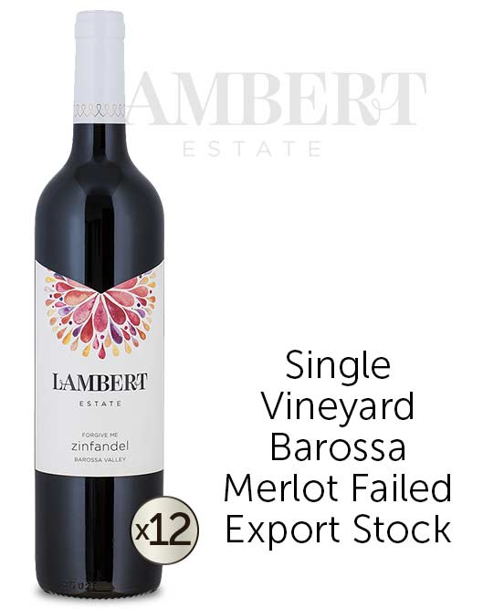 Lambert Estate Forgive Me Barossa Valley Zinfandel 2013 Dozen
