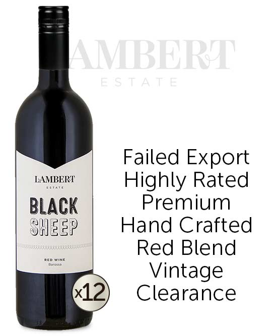 Lambert Estate Black Sheep Barossa Valley Red Blend 2014 Dozen
