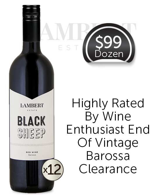 Lambert Estate Black Sheep Barossa Valley Red Blend 2017 Dozen