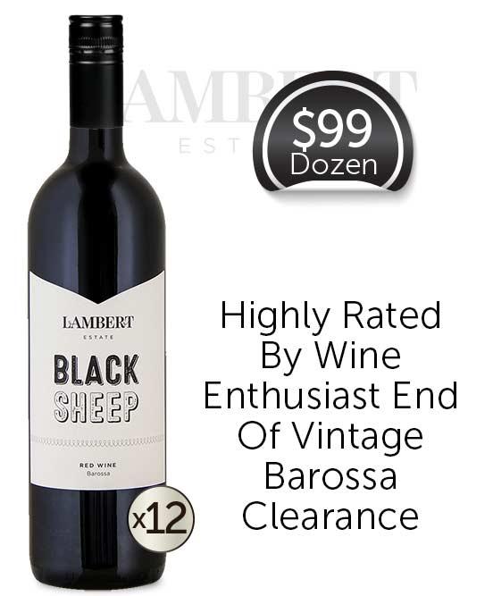 Lambert Estate Black Sheep Barossa Valley Red Blend 2017 Dozen
