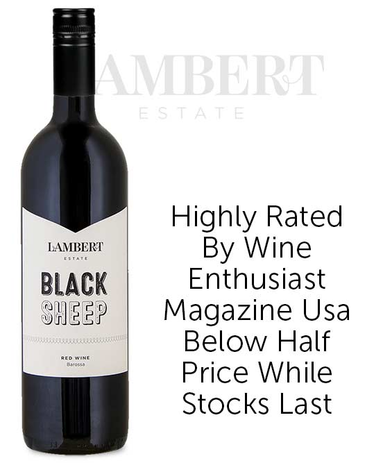 Lambert Estate Black Sheep Barossa Valley Red Blend 2017