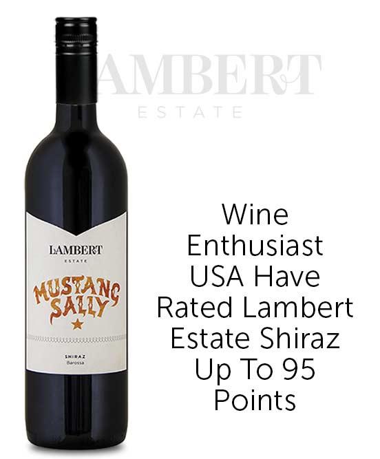 Lambert Estate Mustang Sally Barossa Valley Shiraz 2018
