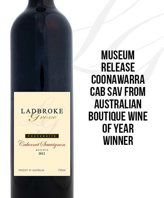 Ladbroke Grove Museum Coonawarra Reserve Cabernet Sauvignon 2012