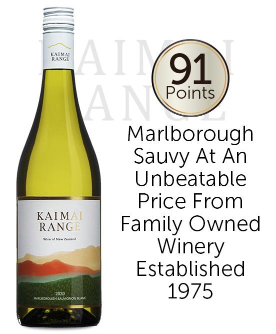 Kaimai Range Marlborough Sauvignon Blanc 2020