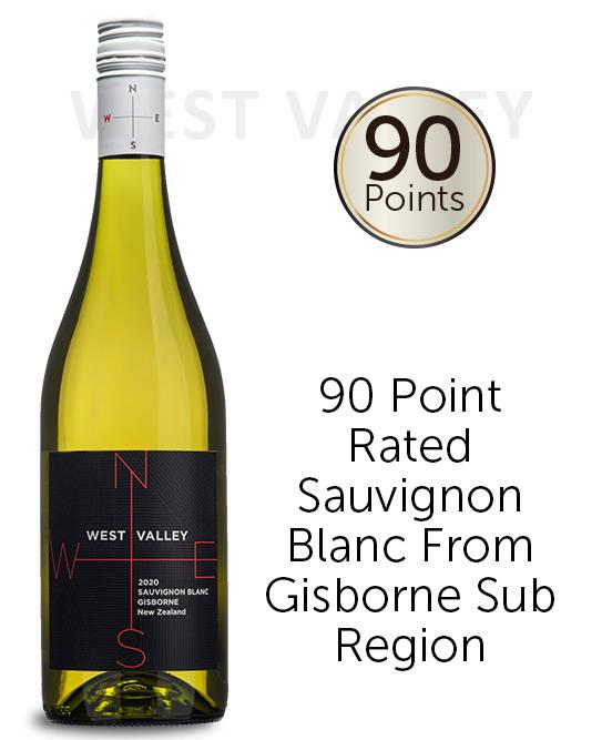 West Valley Gisborne Sauvignon Blanc 2020