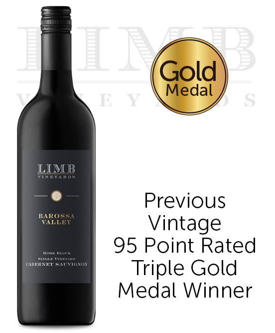 Limb Vineyards Home Block Seppeltsfield Barossa Valley Cabernet Sauvignon 2017