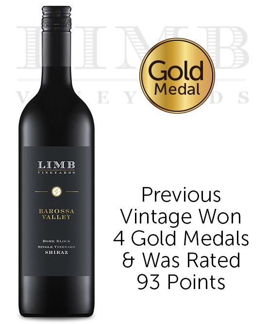 Limb Vineyards Home Block Seppeltsfield Barossa Valley Shiraz 2017