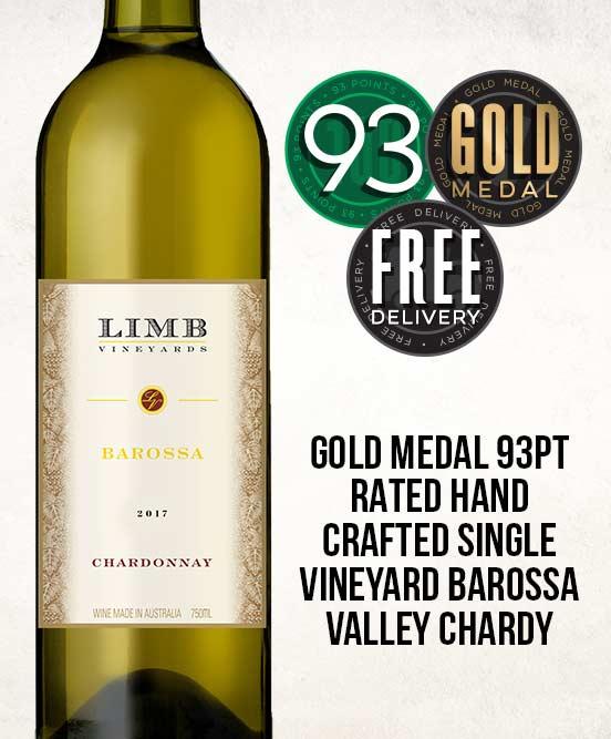Limb Vineyards Reserve Barossa Valley Chardonnay 2017