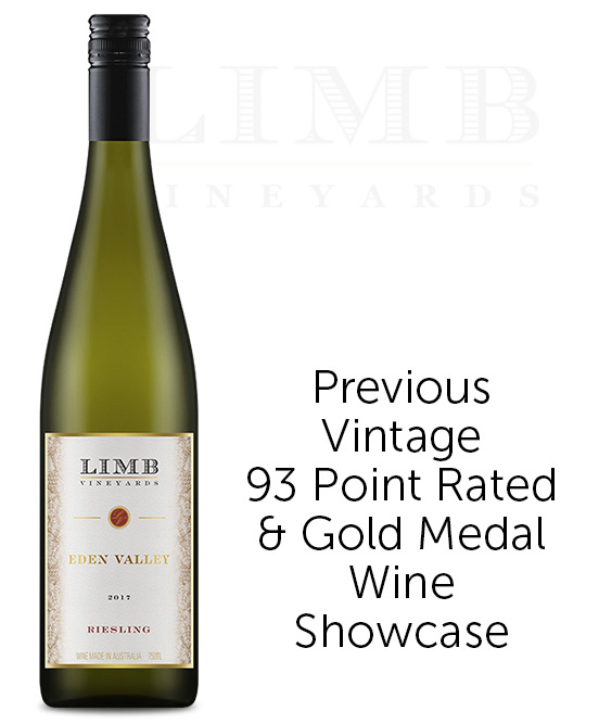 Limb Vineyards Reserve Eden Valley Riesling 2017