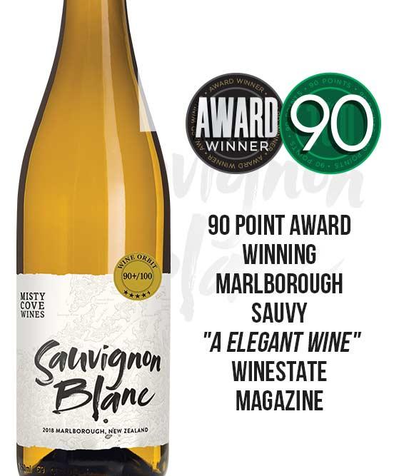 Misty Cove Marlborough Sauvignon Blanc 2018