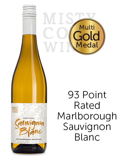 Misty Cove Marlborough Sauvignon Blanc 2019