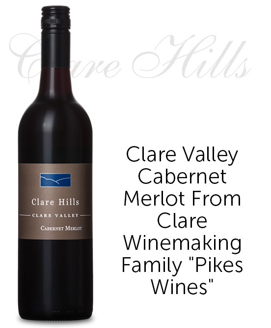 Clare Hills Clare Valley Cabernet Merlot 2017 By Neil Pike
