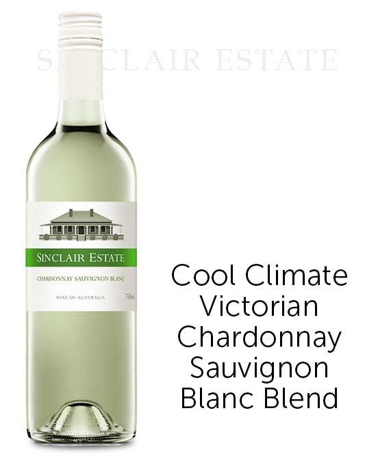 Sinclair Estate Victorian Chardonnay Sauvignon Blanc 2015