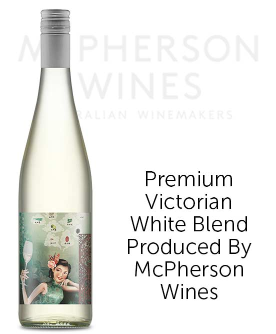 McPherson Princess Butterfly Silver Linings White Blend 2018