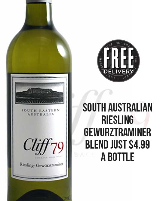 Meritus Wines Cliff 79 South Australian Riesling Gewurztraminer