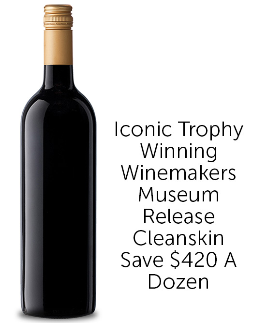 Icon Trophy Winning Winemakers Coonawarra Shiraz 2013 Cleanskin