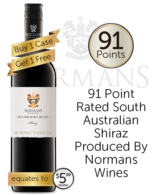 Normans Holbrooks Road Shiraz 2018