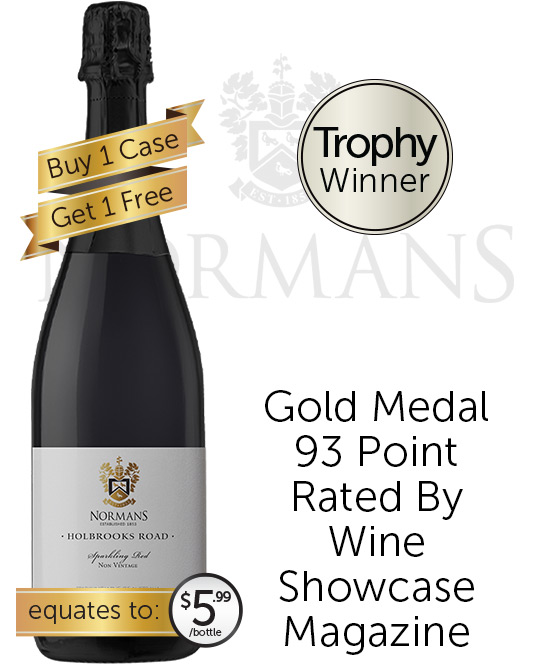 Normans Holbrooks Road Sparkling Red Nv