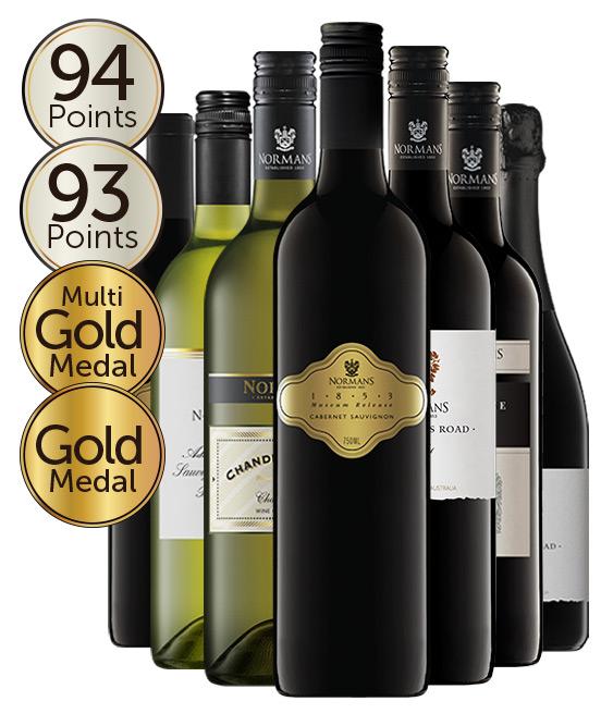 Normans Wines Mixed Dozen