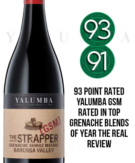 Yalumba The Strapper Barossa Valley GSM 2015