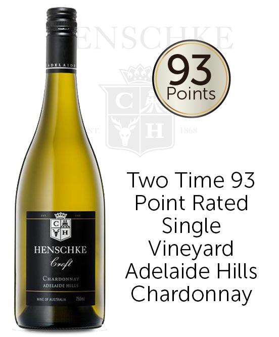 Henschke Lenswood Adelaide Hills Croft Chardonnay 2018