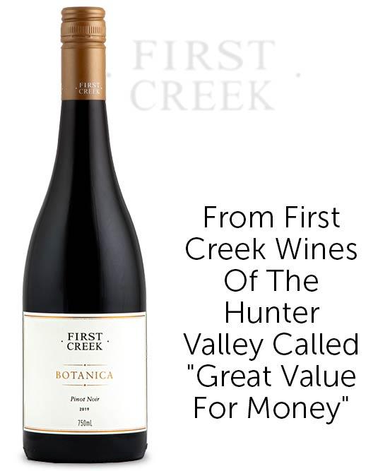 First Creek Botanica Pinot Noir 2019