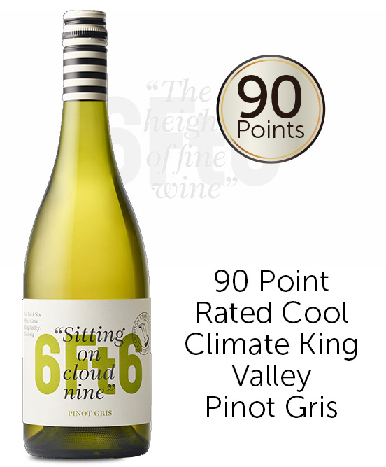 6Ft6 King Valley Pinot Gris 2020