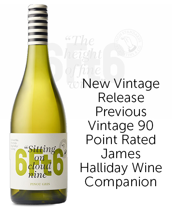 6Ft6 King Valley Pinot Gris 2021