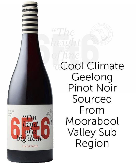 6Ft6 Geelong Pinot Noir 2021