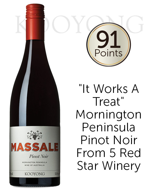 Kooyong Massale Mornington Peninsula Pinot Noir 2019