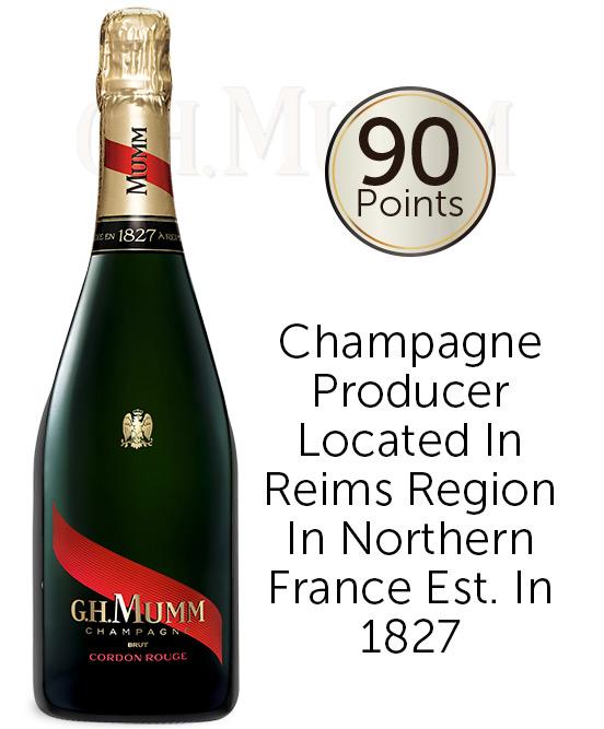 Mumm Cordon Rouge Champagne Nv