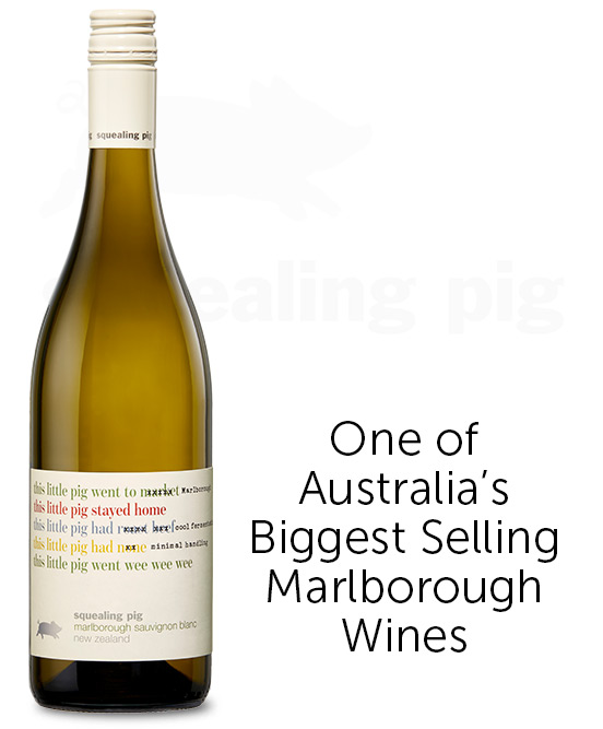 Squealing Pig Marlborough Sauvignon Blanc 2019
