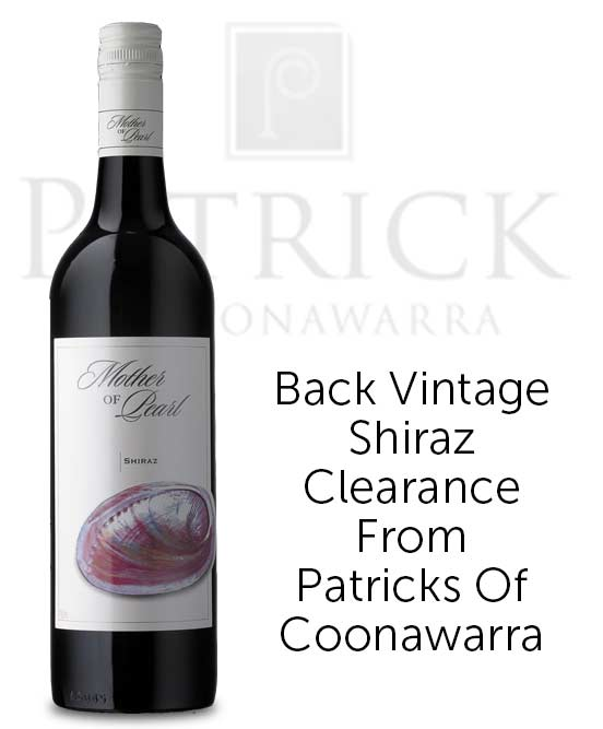Patrick Of Coonawarra Mother Of Pearl Shiraz 2015