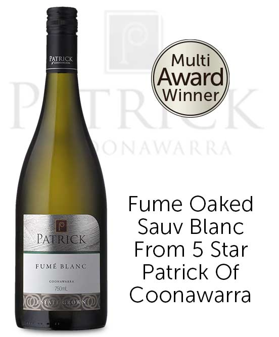 Patrick of Coonawarra Estate Fume Blanc 2016