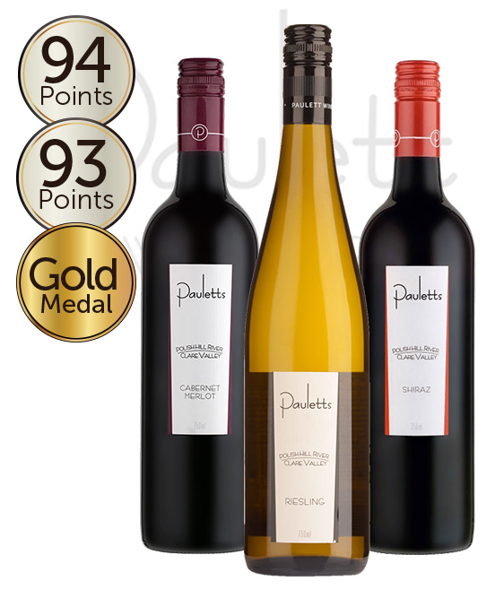 Pauletts Polish Hill Clare Valley Mixed 6pack